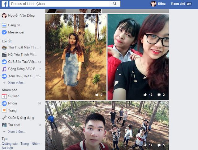 xem chộm ảnh riêng tư của bạn bè facebook một cách dễ dàng