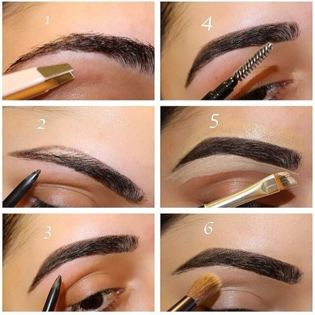how to draw a natural brow arch easy apna food