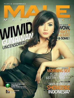 Foto Seksi HOT Wiwid Gunawan Majalah Male