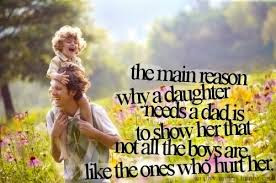 Happy Fathers Day quotes from daughters photos