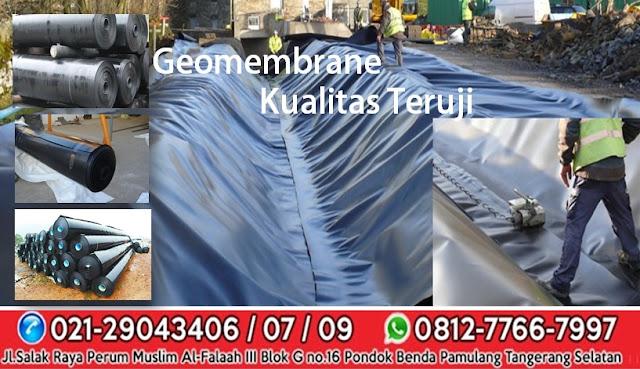 Geomembrane  Harga Jual Supplier Terbaik di Indonesia