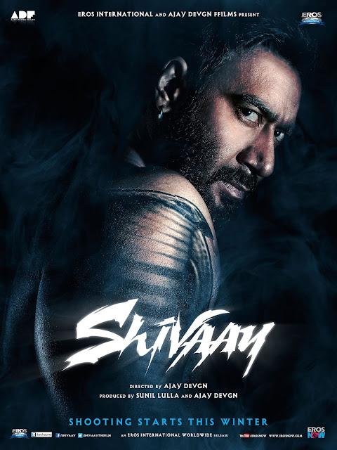 Shivaay 2016 Hindi 250MB HDRip ESubs HEVC x265