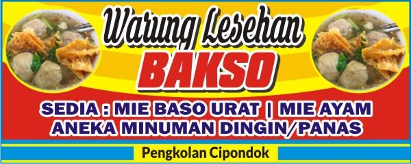 Contoh Desain Spanduk Warung Bakso Banner Bakso - desain ...