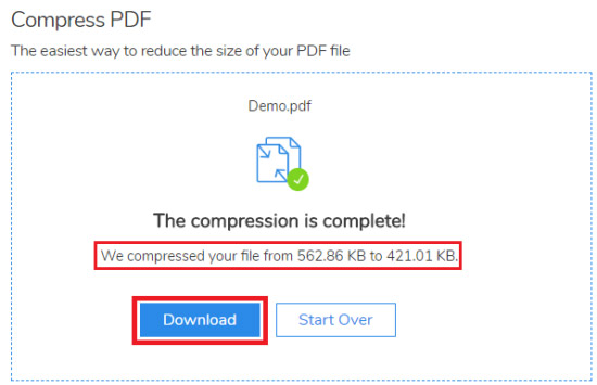 how to reduce pdf file size without losing quality online free