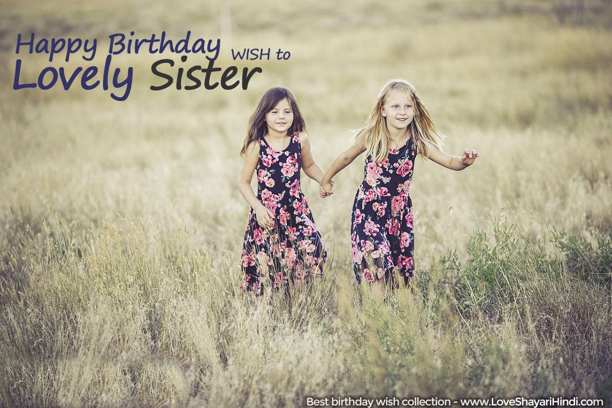 Top 17 Birthday Wishes for Sister - बाहेन के लिए जन्मदिन की शुभकामनाएं