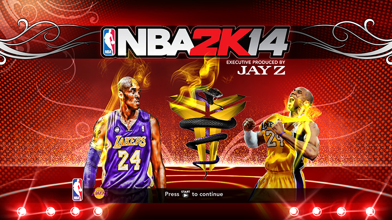 "NBA 2K13 Kobe ""Black Mamba"" Bryant Startup Screen"