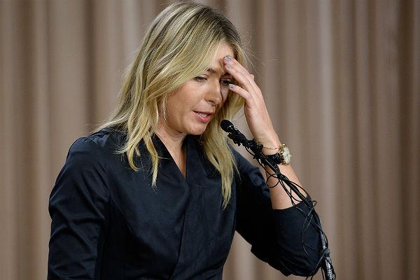 Doping scandal Maria Sharapova