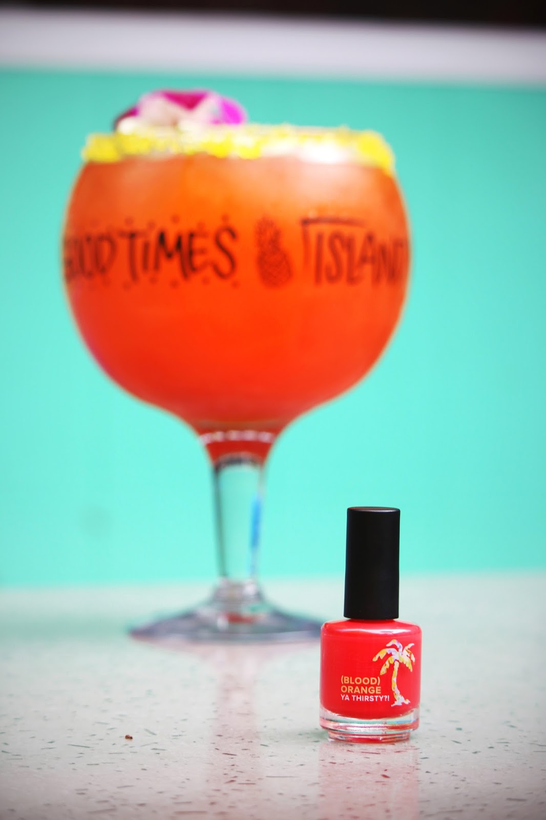 Bahama Breeze Celebrates National Margarita Day with Limited Edition Nail Polish Collection  via  www.productreviewmom.com