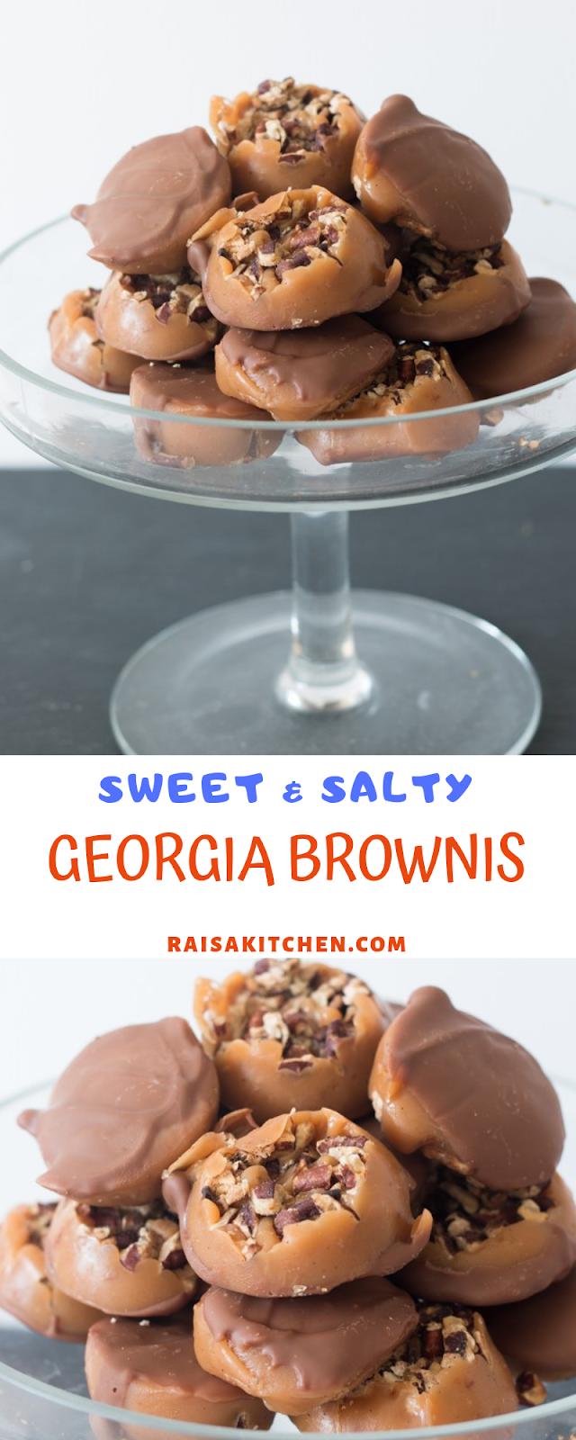 SWEET & SALTY GEORGIA BROWNS