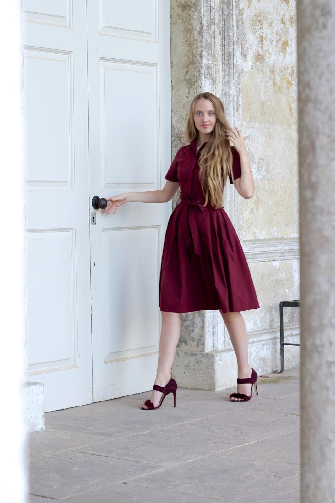 Christmas party dress UK fashion blogger 2016