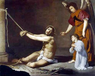 Cristo y el alma cristiana. Velazquez. National Gallery, Londres.