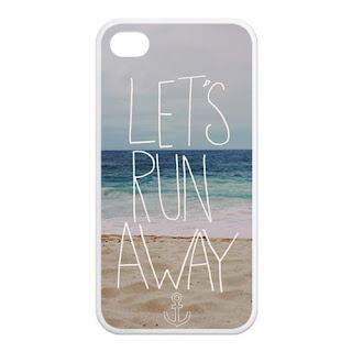 Let's Run Away silicon case for iPhone 4/4s