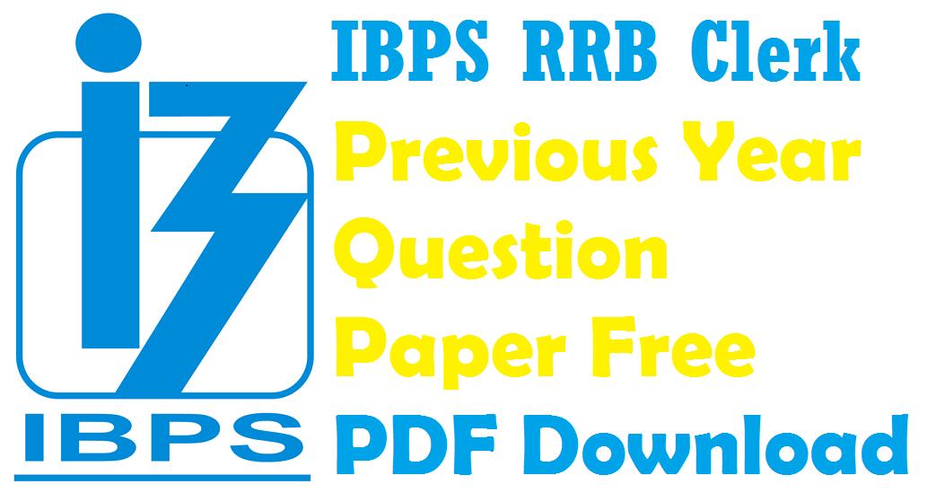 Pdf clerk exam paper