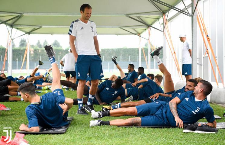 Bianconeri odradili prvi dvostruki trening sezone u Vinovu