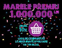 Castiga marele premiu de 1.000.000 lei