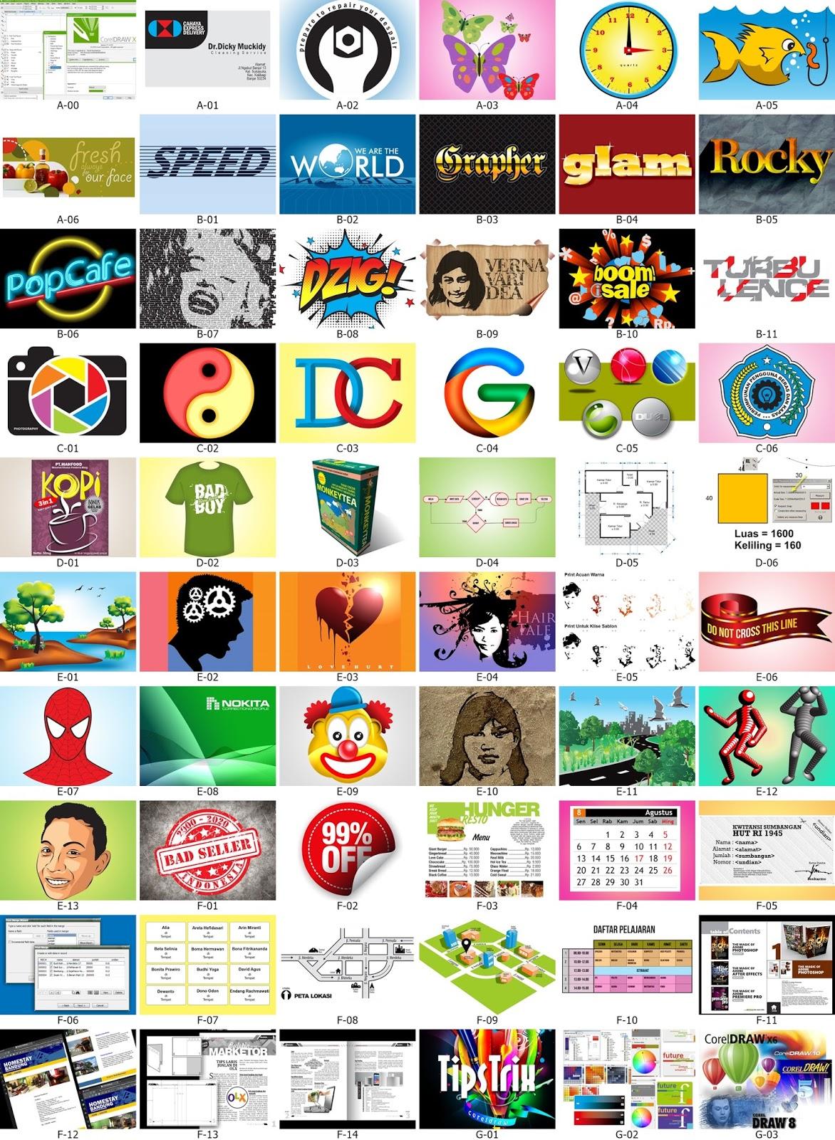 Buku Panduan Corel Draw x4 x5 x6 | Tutorial Corel Draw