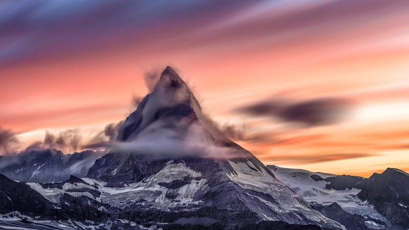 Natural Landscapes from Alps - Matterhorn Peak