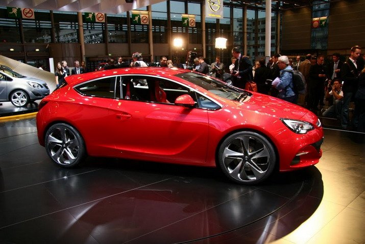 Car Opel Astra Gtc Red Car Best Car View