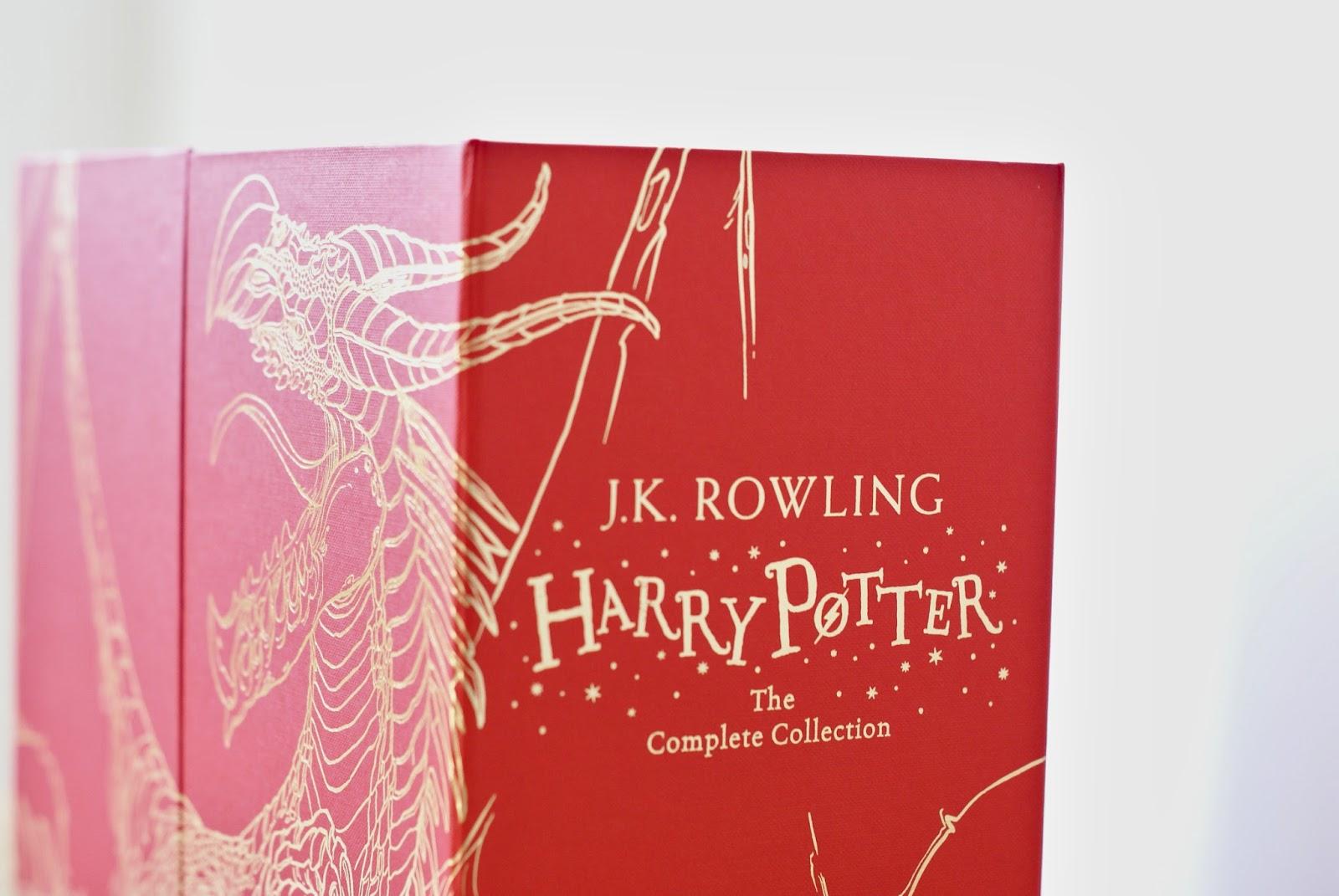 harry potter jk rowling boxed set hardback potterhead books