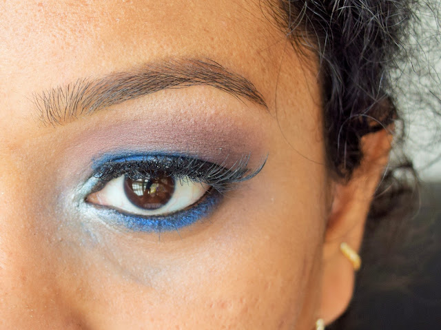 NYX professional Cosmetics Pigment - Constellation review swatch EOTD