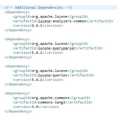 Starting Search With Apache Lucene 5 3 X / 5 4 X - DZone