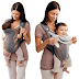 $11 (Reg. $19.99) Evenflo Breathable Soft Carrier, Gray Mist!