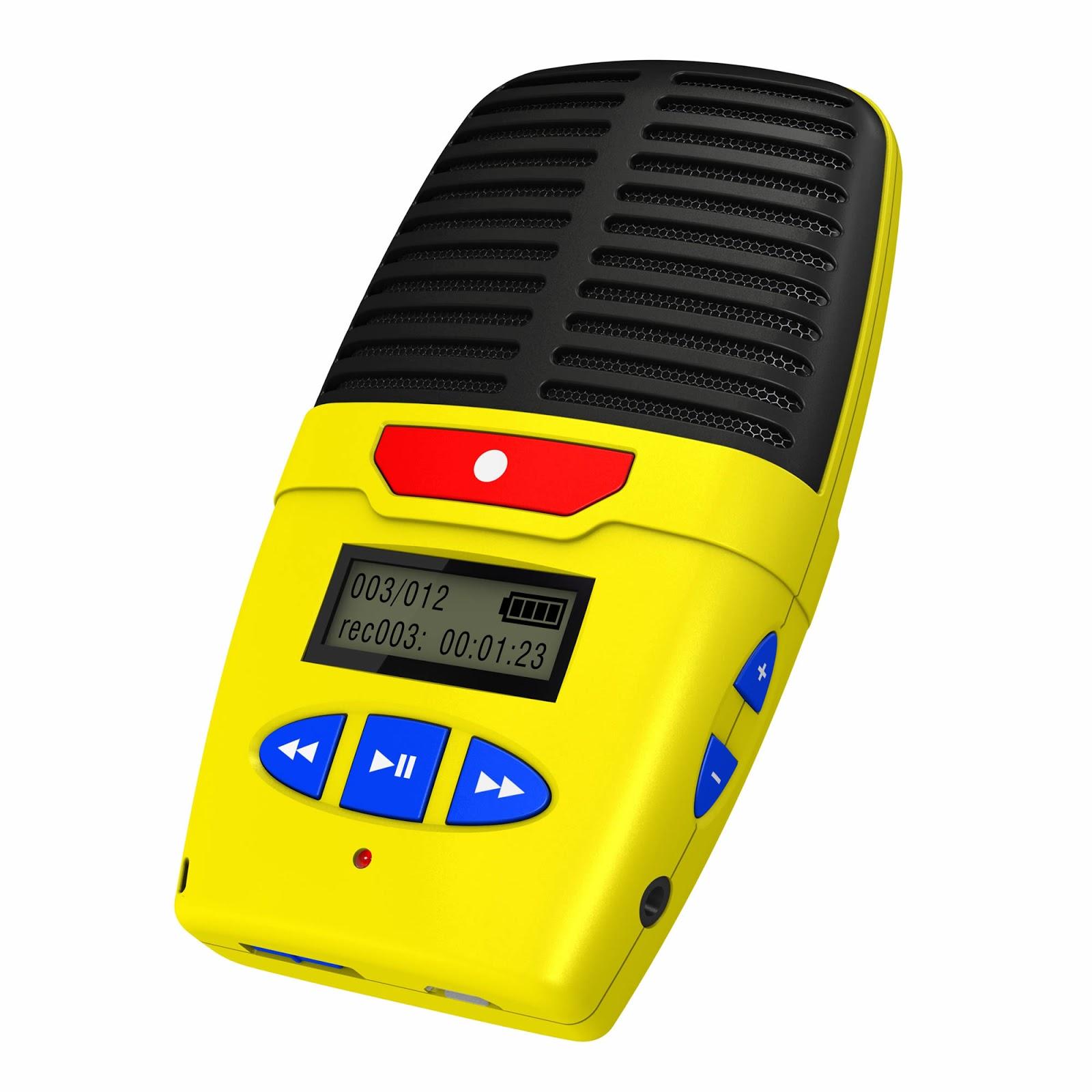 1804003ead8 Introducing the Micro-Speak Plus Digital Voice Recorder