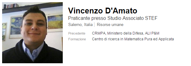 vincenzo d'amato