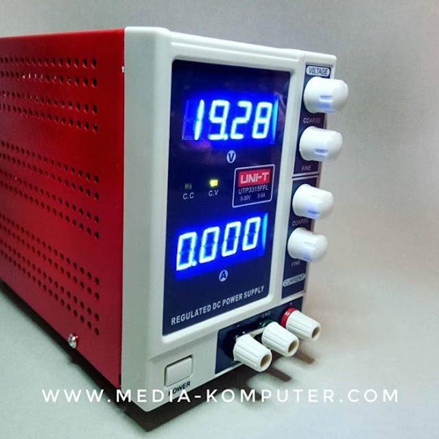 JUAL POWER SUPLLY ADJUSTABLE 0-30 Volt 5 Ampere