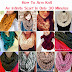 How To Arm Knit An Infinity Scarf In Only 30 Minutes