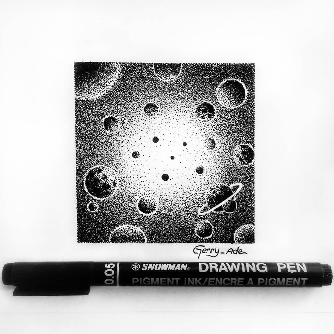 11-Moving-Through-Space-G-A-Yuangga-Fineliner-Stippling-Drawings-www-designstack-co