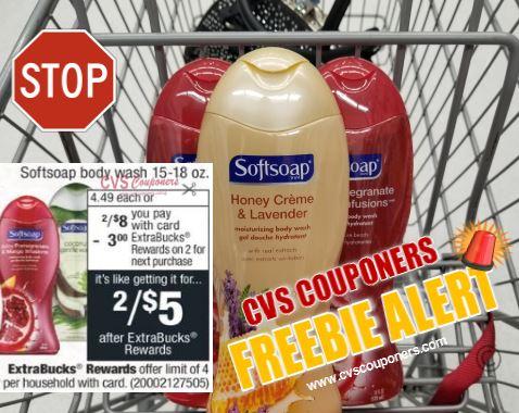cvs couponers softsoap bodywash cvs deal