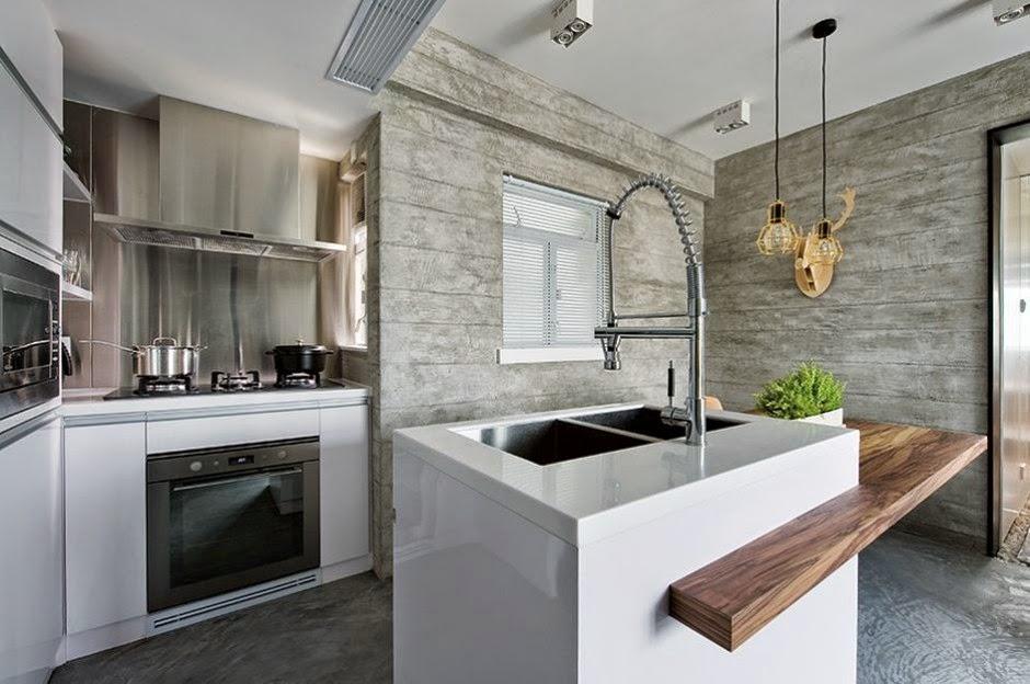 Interior de una casa moderna en gris on Interiores De Casas Modernas  id=84491
