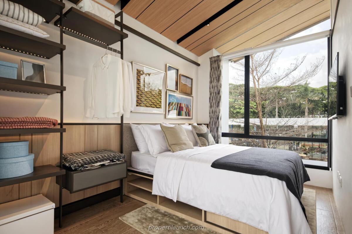 Interior Design Rumah Rolling Hills Karawang Tipe 1A Bedroom