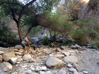 Dry Fish Canyon Falls, Angeles National Forest, October 24, 2015