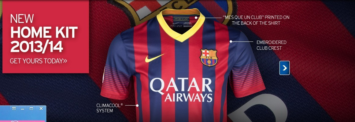 Comprar Por Equipo de camiseta niños 2014  Nueva camisetas barcelona ... 3ab8047c913