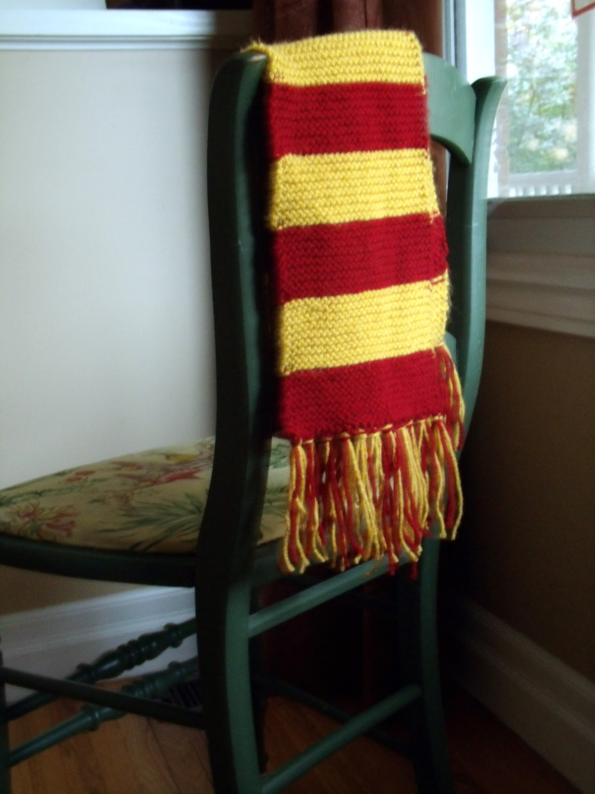 Making Stuff Harry Potter Scarf Knitting Pattern Frugal Family Times