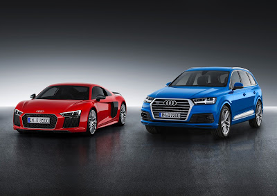 Tα νέα Audi R8 και Q7 προσγειώνονται στον Διεθνή Αερολιμένα Αθηνών