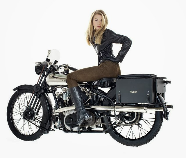 Fast Is Fast...: Brough Girl