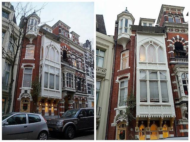 Zevenlandenhuizen casa alemana calle Roemer Visscherstraat