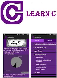 c, c++ learning kickstart c app