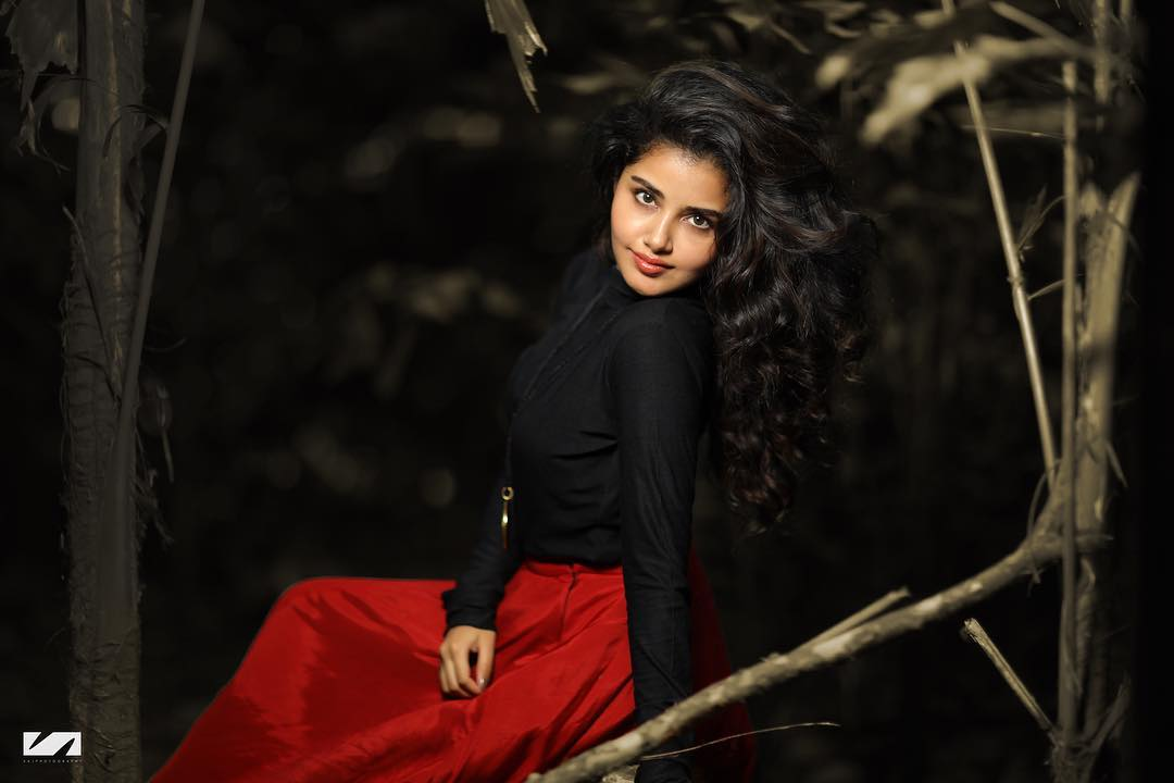 Anupama Parameswaran Red & Black Photoshoot