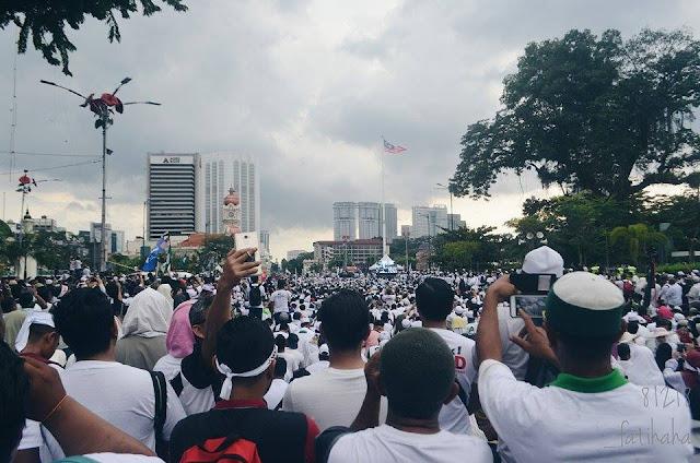 Himpunan Aman 812 Bantah ICERD