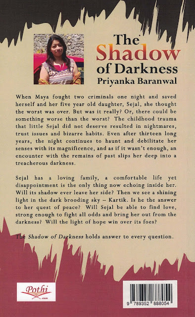 Book Blurb : The Shadow of Darkness - Priyanka Baranwal