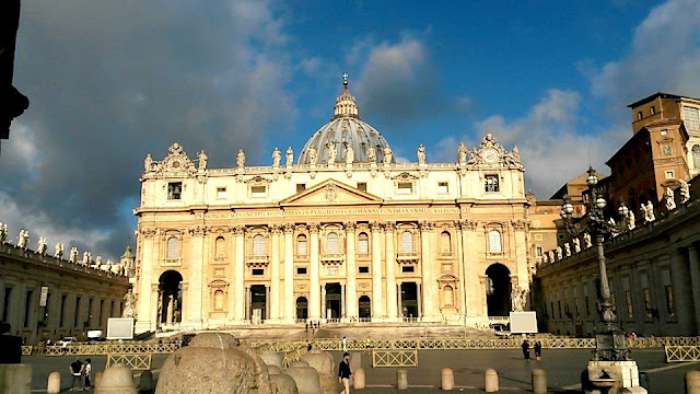 Rome, The Vatican, St. Peter's Basilica