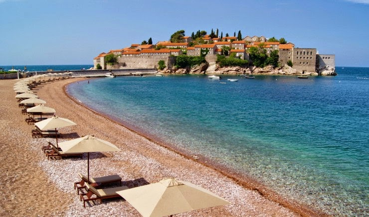 7. Sveti Stefan, Budva, Montenegro - 29 Most Exciting Beaches to Visit