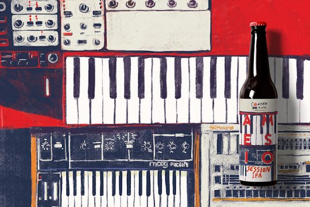 Nueva identidad de marca para la cerveza Contromano