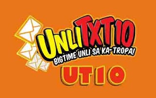 Unlitext to TNT, Smart at Sun with UT10 Promo Valid for 2 days