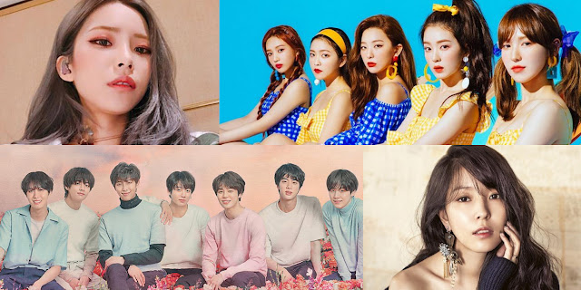 Inilah Nominasi Untuk Korean Music Awards Ke-16
