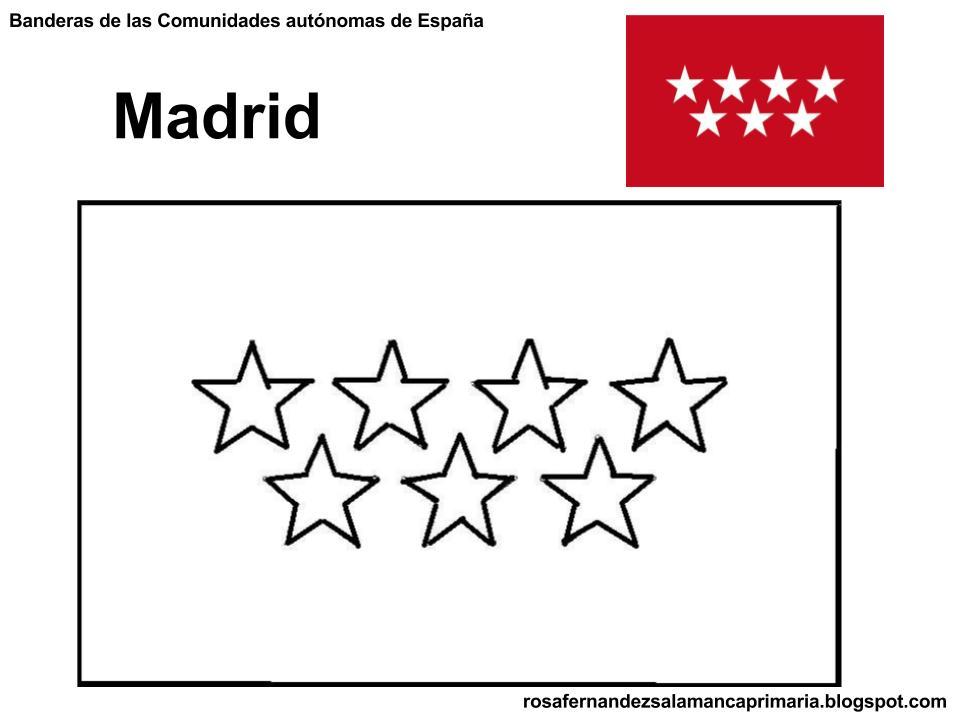 Dibujos para colorear. Maestra de Infantil y Primaria.: Banderas de ...